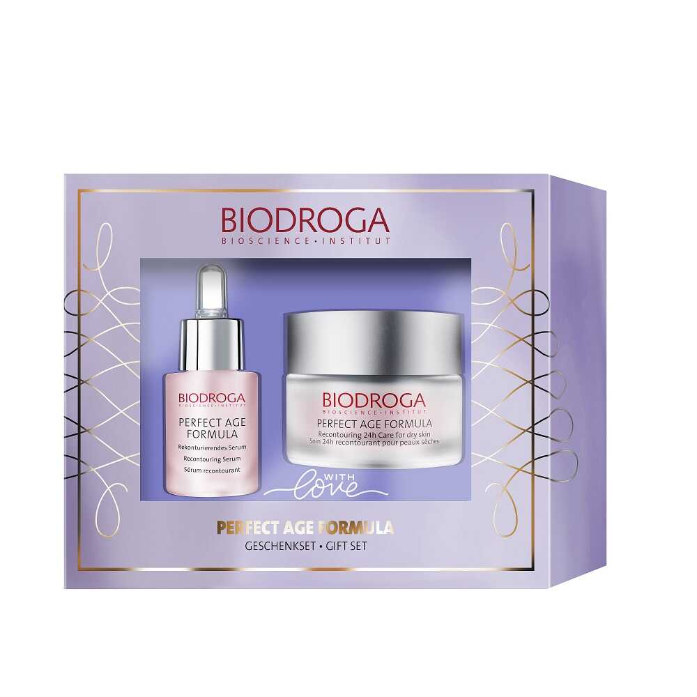 BIODROGA Promotion PERFECT AGE FORMULA Gift Set 24h for dry skin+ Serum