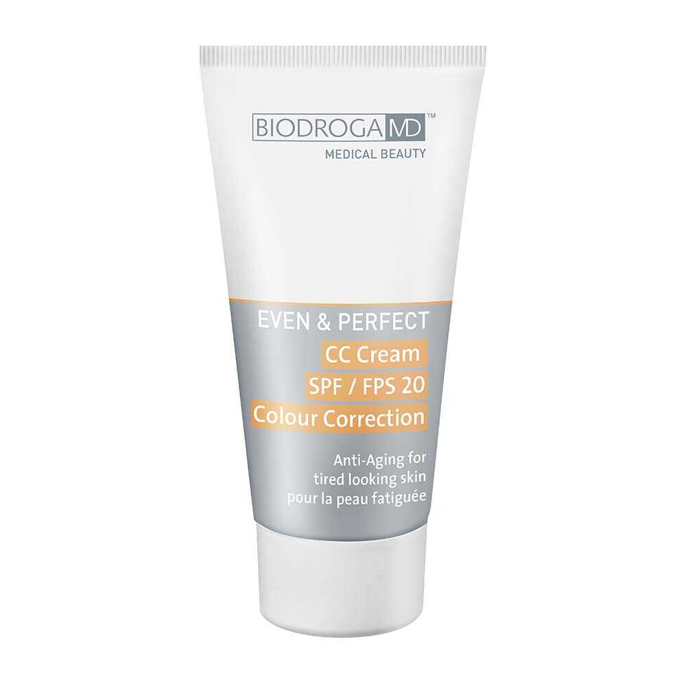 BIODROGA MD MD Energize & Perfect CC Cream SPF20 Anti Aging perfect teint for tired looking skin
