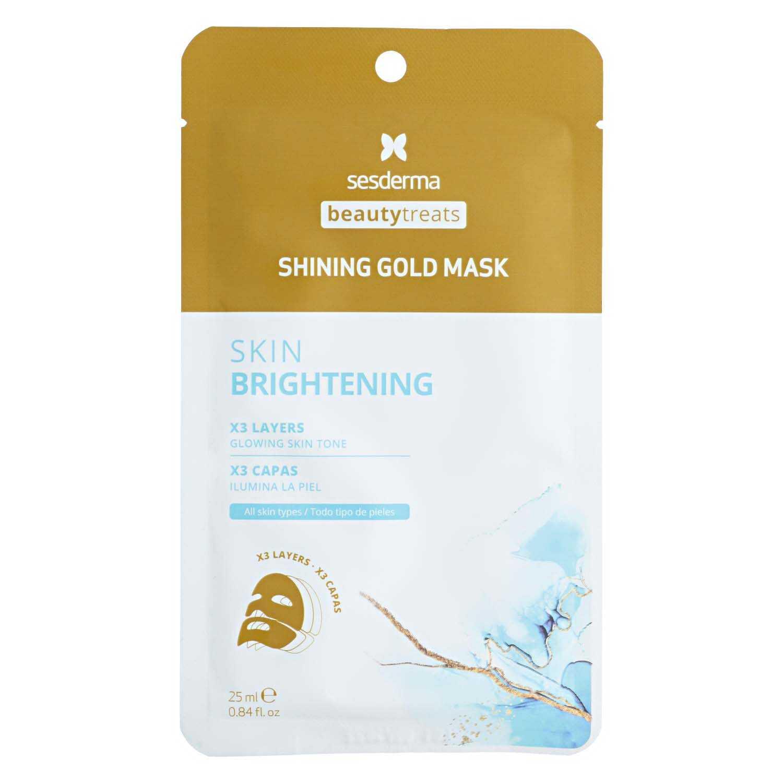 SESDERMA BEAUTY TREATS Shining Gold Mask