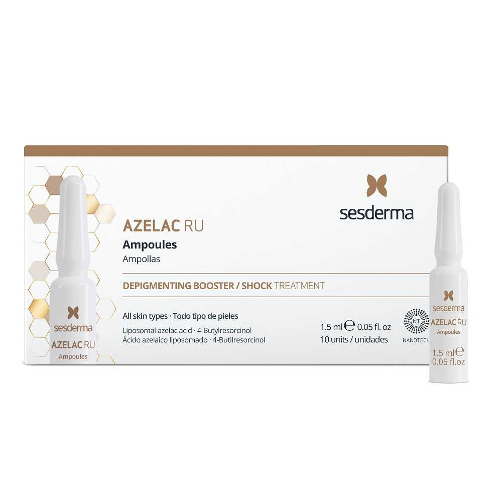 SESDERMA AZELAC RU Ampoules Depigmenting Booster